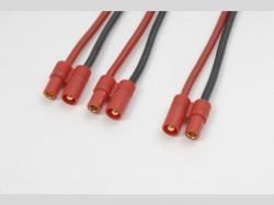 V-Kabel Paral. 3.5mm gold 14AWG 1x