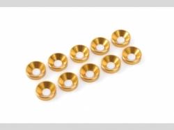 Unterlegscheibe M3 Gold 10x