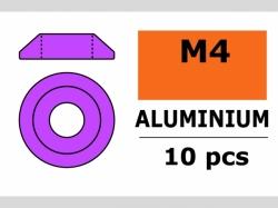 Unterlegscheibe M4 Lins. Violet 10x