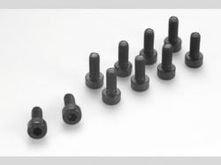 Zylinderschr. Sechskant M2X1 10x