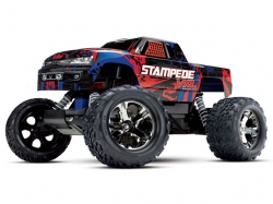 Traxxas Stampede VXL 2WD Rot 1:10 TSM ARTR, ohne Ladegerät..