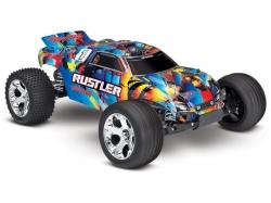 Traxxas Rustler 2WD Rock&Roll ARTR 1:10 (ohne Akku/DC-Lader)