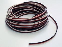 Premium Servokabel 3x 0,14mm², flach, 5m