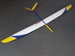 RCRCM Link CFK Weiss/Gelb/Blau F3F/F3B 2.9m mit Schutztasc..