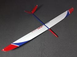 RCRCM Link CFK Rot/Blau/Weiss F3F/F3B 2.9m mit Schutztasch..