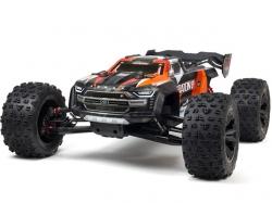Arrma Kraton BLX8S 4WD Orange 1:5 Brushless Speed Monster ..