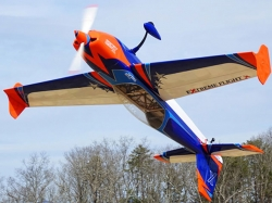 "EXTREMEFLIGHT-RC EXTRA 300 70"" V2 ORANGE / BLAU ARF"