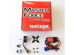 Hacker Brushless Set Master Force 2826CA-15 KV 1200 & MC-22A