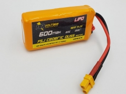 RB Voltage 600mAh 3S 60C F5J Cederic Duss edition XH/XT30 ..