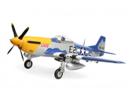 E-Flite P-51D Mustang 1.5m PNP, RC-Modellflugzeug