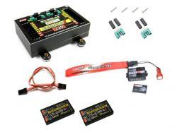 JETI Central Box CB220 + 2x Rsat2 + Magnetic SW