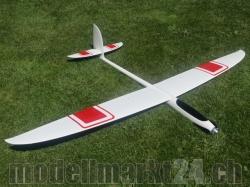 PnP RCRCM E-Hornet Spw. 2,0m GFK Weiss/Rot
