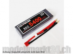 AGA-Power LiPo-Akku 5800mAh 7,4V 50C 2S2P Hard-Pack
