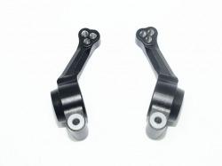 Aluminum Rear Knuckle Arm Schwarz -2Pc Set von GPM-Racing