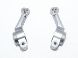Aluminum Rear Knuckle Arm Grausilber -2Pc Set von GPM-Racing