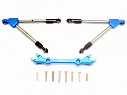 Aluminum Front Tie Rods Stabilizer For C Hub Blau-11Pc Set von GPM-Racing