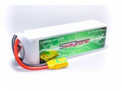 SWAYTRONIC LiPo 6S 22.2V 5300mAh 35C/70C XT90S
