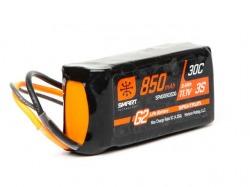 850mAh 3S 11.1V 30C G2 IC2 Smart LiPo Battery von Spektrum