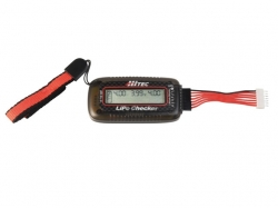 HiTEC LiPo Checker 2-6S LiPo