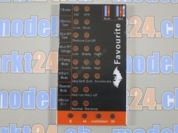 Favourite LED Programmierkarte Sky- und Swallow Series