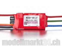 Kontronik Koby 90 LV Brushless ESC mit S-BEC 5-8V/3A