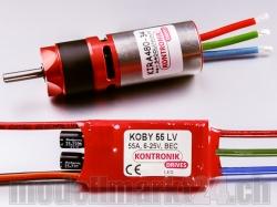 Kontronik DRIVE 510 (KIRA 480-34 5.2:1 / KOBY 55 LV)