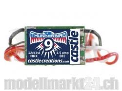 Castle Thunderbird-9A 3S Brushless ESC mit BEC
