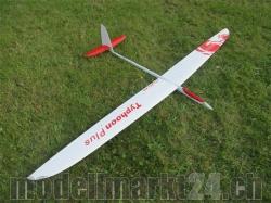 RCRCM Typhoon Plus El. F3B Spw.2980mm CFK+ Weiss/Rot mit S..