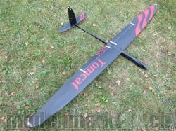 RCRCM E-Tomcat Spw.2.6m Doppel-CFK+(Carbon) Schwarz/Rot mi..