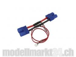 Spektrum Spannungssensor mit EC3-Stecker für den Flug Akku..