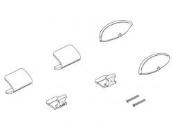 Positionslichter - Kappen FunCub XL von Multiplex