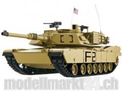 Panzer M1A2 Abrams 1:16 RC Panzer BB Wüste, Schuss- und Ra..