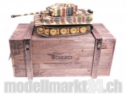 Panzer Tiger I späte Ausführung Metall Profi-Edition BB 1/..