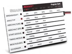 ROXXY Smart Control Program Card Deutsch