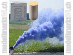 Rauchpatronen AX-60 Farbe blau, 5Stk. ca. 4Min