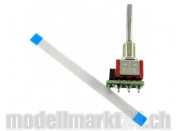 3-Stufen-Schalter (lang) für DS Fernsteuerung von Jeti