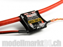 Jeti MUI200EX Spannungs- und Stromsensor 60V/200A für Dupl..