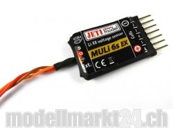 Jeti MULI6S Spannungssensor bis 6S LiPo für Duplex 2.4GHz ..