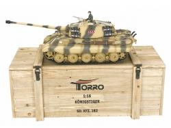 Panzer Königstiger Metall 2.4 GHz 1/16 BB 6mm Schussversio..