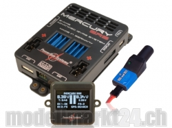 PowerBox Mercury SRS inkl. GPS, OLED-Display, Sensorschalter