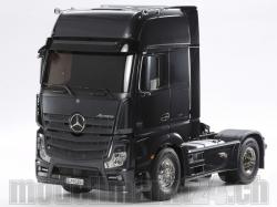 Tamiya Mercedes Benz Actros 1851 Black GigaSpace RC-Truck ..