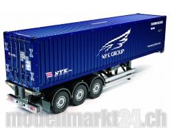 40ft. Container Auflieger NYK RC-Truck 1:14 Bausatz von Ta..