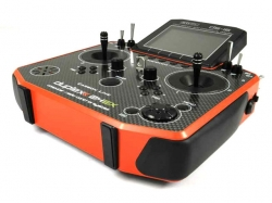 Jeti Hand-Sender DS-16 carbonline red Multimode 2.4Ghz