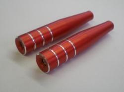 Steuerknüppel Typ1 M3 lang rot 2Stk. von Rega-Design