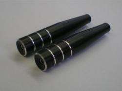 Steuerknüppel Typ1 M3 lang schwarz 2Stk. von Rega-Design