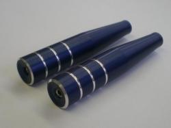 Steuerknüppel Typ1 M3 lang dunkelblau 2Stk. von Rega-Design