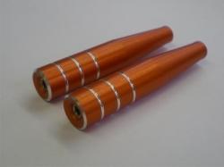 Steuerknüppel Typ1 M3 lang orange 2Stk. von Rega-Design