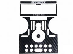 Dekorbogen PROFI TX carbon schwarz von Multiplex