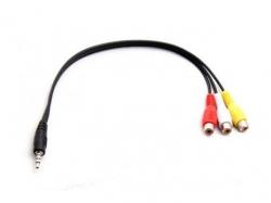 Fatshark A/V-Stereo Kabel Klinke/Chinch 30cm