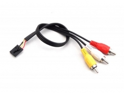 Fatshark A/V-Stereo Kabel Molex-5pol/Chinch 30cm